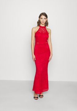 WAL G. - ARYA HALTER NECK DRESS - Occasion wear - red