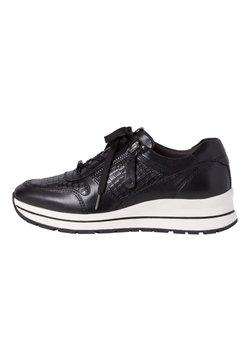 Tamaris Pure Relax - Sneakersy niskie - black/croco