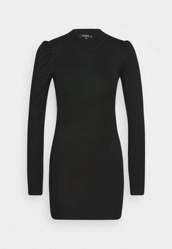 Missguided Petite - PUFF SLEEVE MINI DRESS - Robe fourreau - black
