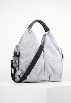 Lässig - NECKLINE BAG - Borsa fasciatoio - black melange
