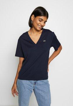 Lacoste - T-Shirt basic - navy blue