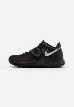 Nike Performance - KYRIE FLYTRAP III - Basketball shoes - black/metallic gold star