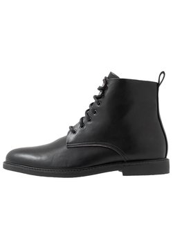 Pier One - Bottines à lacets - black