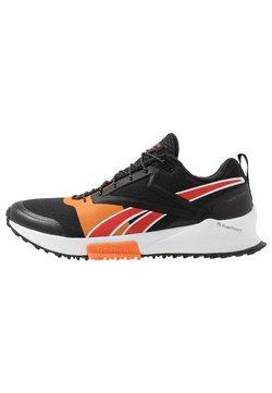 Reebok - LAVANTE - Zapatillas de trail running - black/high vis orange/instinct red