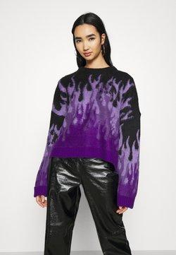 The Ragged Priest - REVOLT - Pullover - purple/black