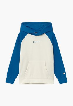 Champion - LEGACY AMERICAN CLASSICS HOODED - Bluza z kapturem - off-white