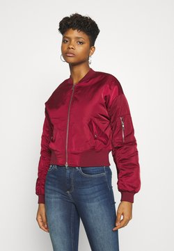 ONLY - ONLPATTY JACKET  - Giubbotto Bomber - pomegranate