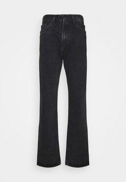 Carhartt WIP - PONTIAC PANT MAITLAND - Straight leg -farkut - black stone washed