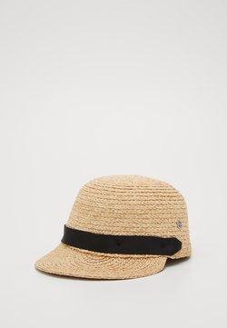 Esprit - RAFIA CAP - Keps - sand