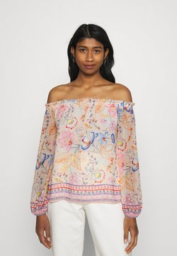 Forever New - MARCELLA OFF SHOULDER BLOUSE - Langarmshirt - kinsfolk