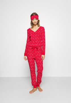 Anna Field - SET - Pyjama - red