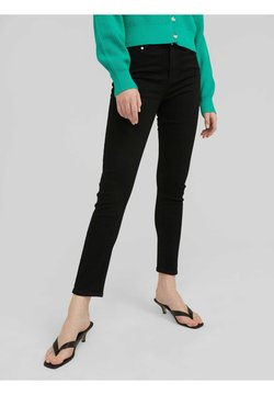 EDITED - DIANE - Slim fit jeans - schwarz