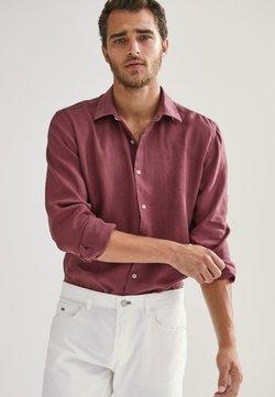 Massimo Dutti - SLIM-FIT - Shirt - bordeaux