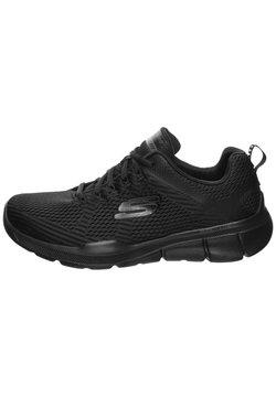 Skechers Sport - HERREN SNEAKER - Sneaker low - black/black