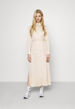 NU-IN - BELTED DRESS - Maxikleid - beige