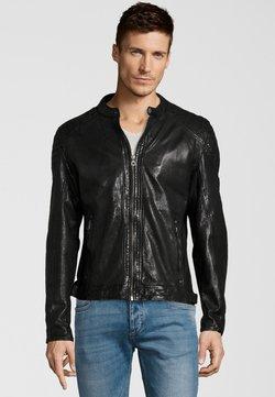Gipsy - GARREN  - Leren jas - black