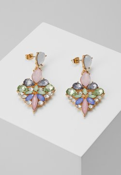 Pieces - PCGREEN EARRINGS - Earrings - gold-coloured/multi