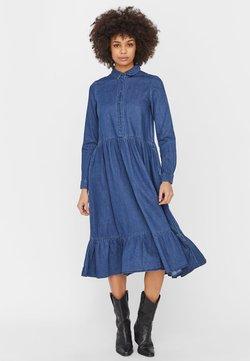 Vero Moda - Maxikleid - medium blue denim