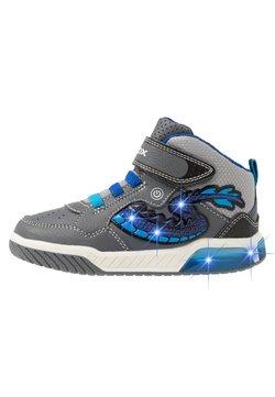 Geox - INEK BOY - Sneaker high - grey/royal