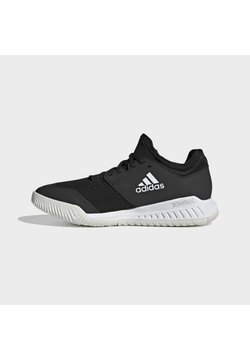adidas Performance - COURT TEAM BOUNCE INDOOR SHOES - Indoorskor - core black/ftwr white/silver met.