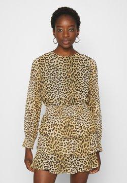 Gina Tricot - ALVA DRESS - Korte jurk - brown