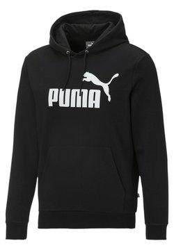 Puma - BLANK BIG LOGO - Kapuzenpullover - black