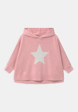 GAP - TODDLER GIRL PONCHO - Jersey de punto - pure pink
