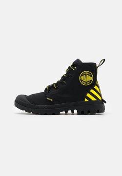 Palladium - PAMPA X SMILEY - Veterboots - black/yellow