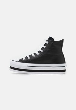 Converse - CHUCK TAYLOR ALL STAR PLATFORM LAYER - Baskets montantes - black/white