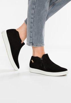 ECCO - SOFT  - Sneaker low - black/powder