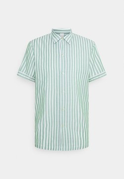 Scotch & Soda - RELAXED FIT SHORT SLEEVE SAILOR  - Hemd - light green/white