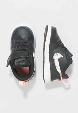 Nike Sportswear - COURT BOROUGH LOW - Lauflernschuh - black/pale ivory/pink tint