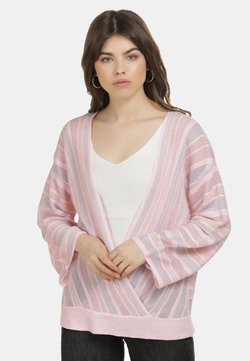 myMo at night - Strickpullover - hellrosa m. streifen