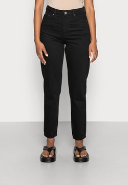 Gina Tricot - DAGNY HIGHWAIST - Jeans Tapered Fit - black