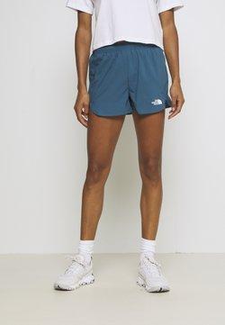 The North Face - WOMENS ACTIVE TRAIL RUN SHORT - kurze Sporthose - mallard blue