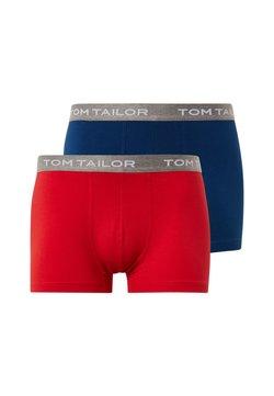 TOM TAILOR - 2 PACK - Shorty - red-light-uni