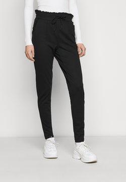 ONLY Tall - ONLPOPTRASH EASY FRILL PANT - Jogginghose - black