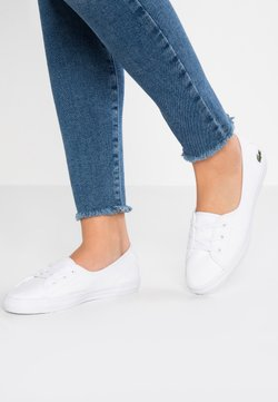 Lacoste - ZIANE CHUNKY - Sneakersy niskie - white