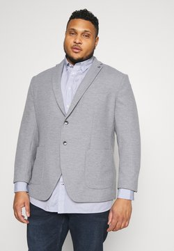 Selected Homme - SLHHIKEN BLAZER - Blazer - light grey melange
