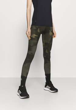 The North Face - FLEX MID RISE - Tights - green