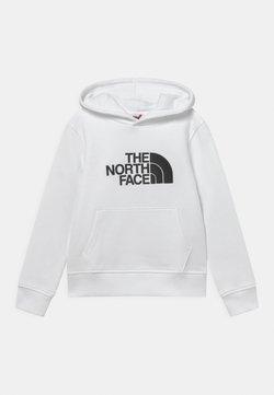 The North Face - DREW PEAK HOODIE UNISEX - Bluza z kapturem - white/black
