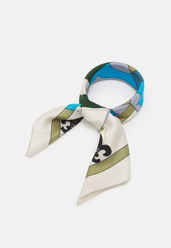 Tory Burch - COMPASS NECKERCHIEF WITH CHARMS - Huivi - olive