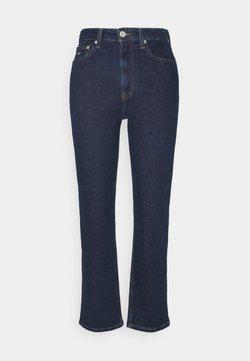 Tommy Jeans - HARPER - Jeans Straight Leg - oslo dark blue