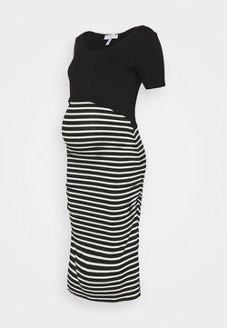 Envie de Fraise - CAROLLE - Maxikleid - black/off white stripes