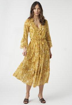 Dea Kudibal - BRENDA - Freizeitkleid - paisley yellow