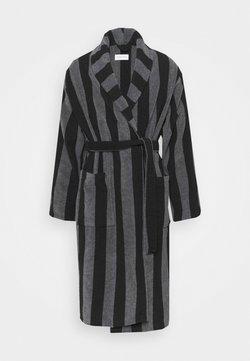 Pier One - Peignoir - black/dark grey