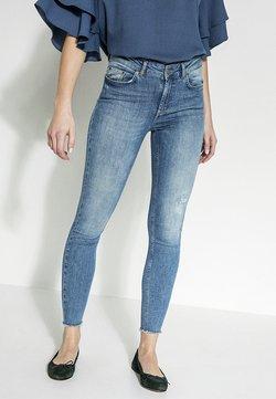 Pieces - Slim fit jeans - light blue