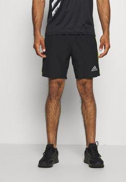 adidas Performance - OWN THE RUN - Pantalón corto de deporte - black/signal green