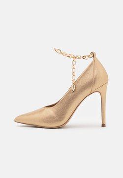 Wallis - PAISELY - High Heel Pumps - gold