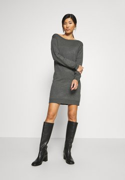 Anna Field - Vestido de punto - dark grey mélange